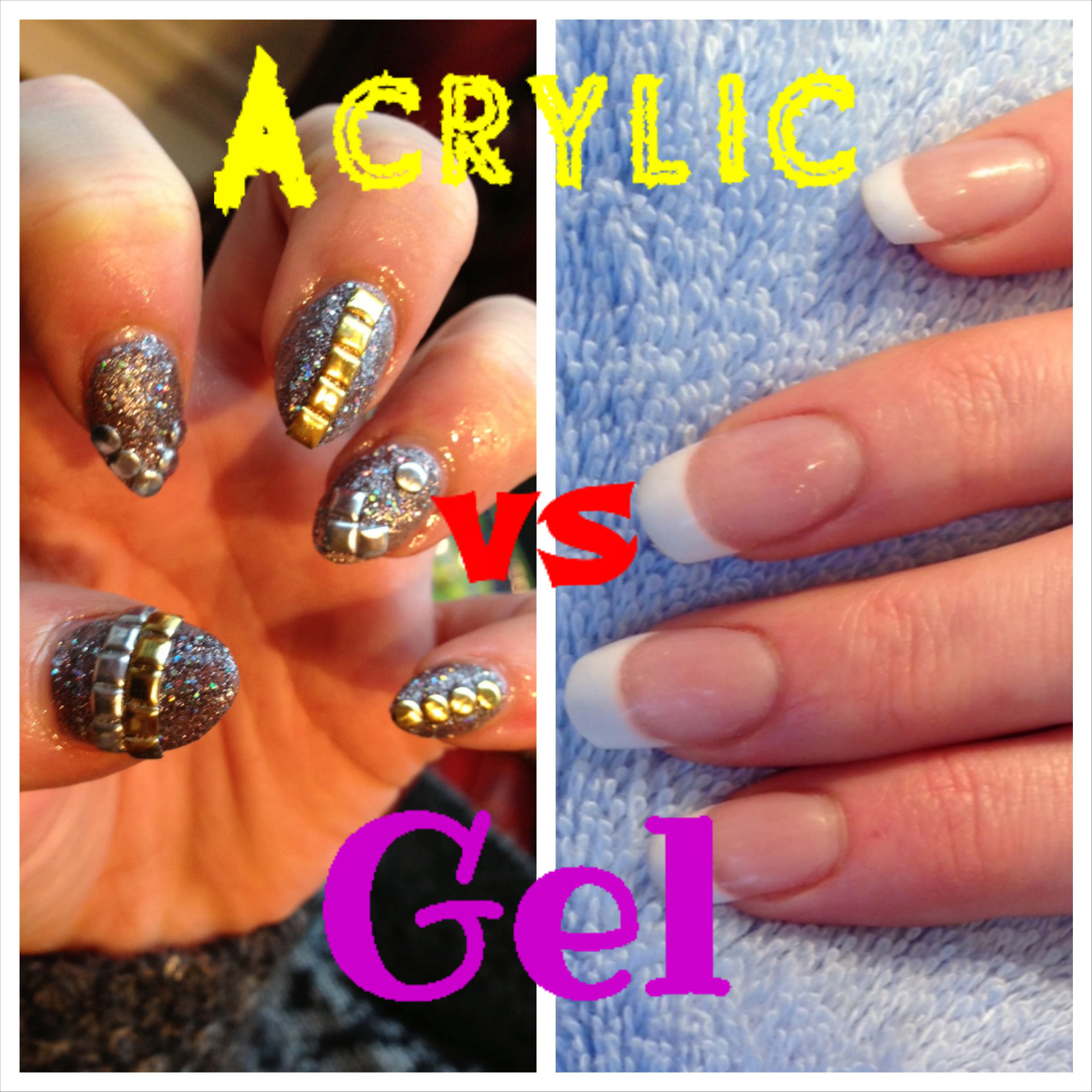 Acrylic Nails vs Gel Nails - A Horror Story {Bridal Beauty School}